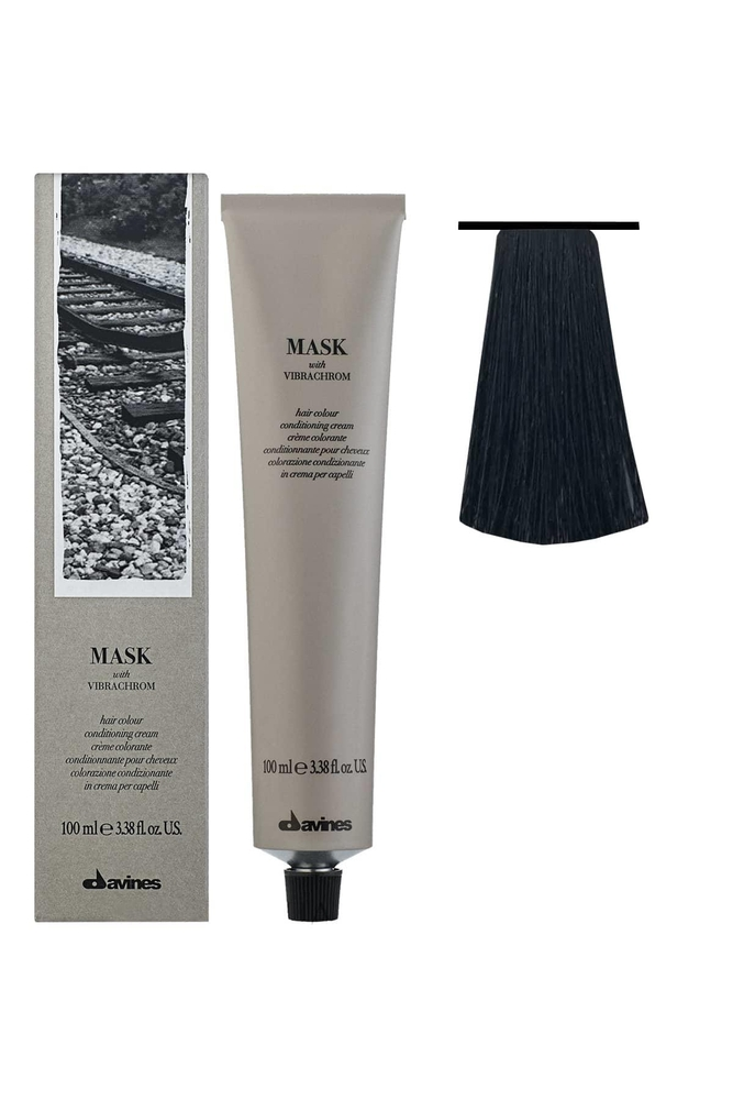 Davines Mask Vibrachrom Saç Boyası 1,0 Siyah 100 ml