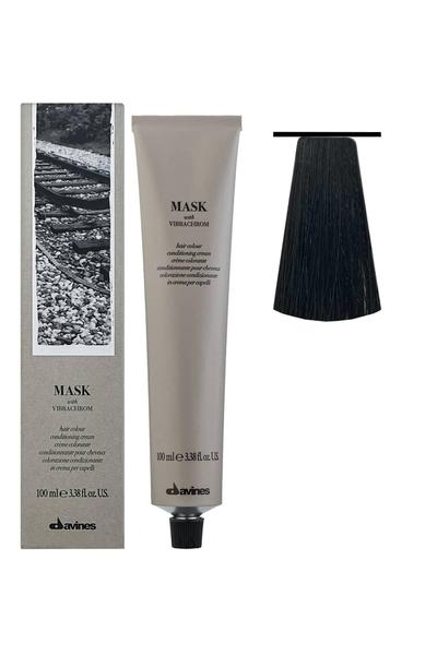 Davines - Davines Mask Vibrachrom Saç Boyası 3,0 Koyu Kahve 100 ml