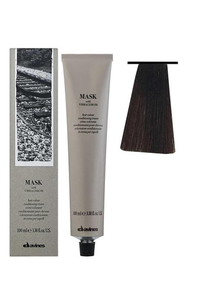 Davines - Davines Mask Vibrachrom Saç Boyası 5,4 Açık Bakır Kahve 100 ml