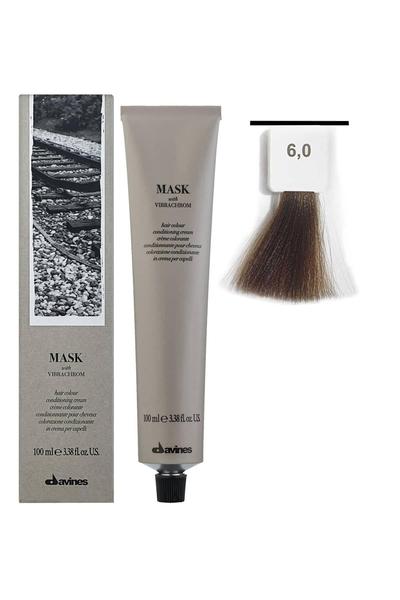Davines - Davines Mask Vibrachrom Saç Boyası 6,0 Koyu Kumral 100 ml