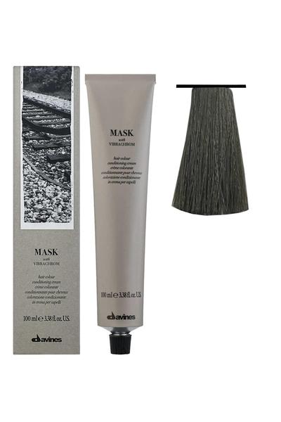 Davines - Davines Mask Vibrachrom Saç Boyası 6,1 Koyu Kumral Külllü 100 ml