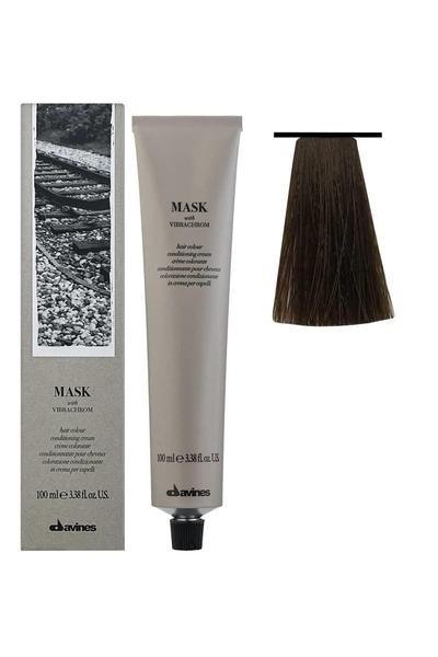Davines - Davines Mask Vibrachrom Saç Boyası 6,14 Koyu Kumral Küllü Bakır 100 ml
