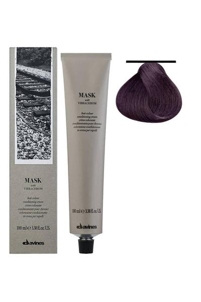 Davines - Davines Mask Vibrachrom Saç Boyası 6,22 Koyu Kumral Yoğun İrize 100 ml
