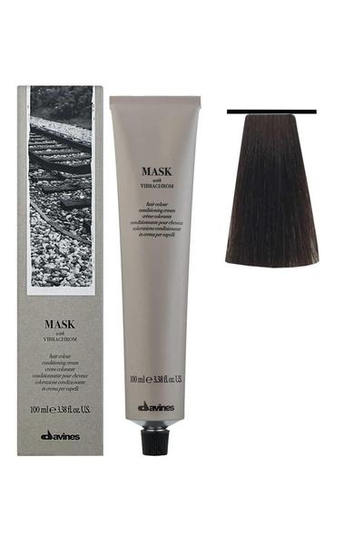 Davines - Davines Mask Vibrachrom Saç Boyası 6,35 Koyu Kumral Altın Akaju 100 ml