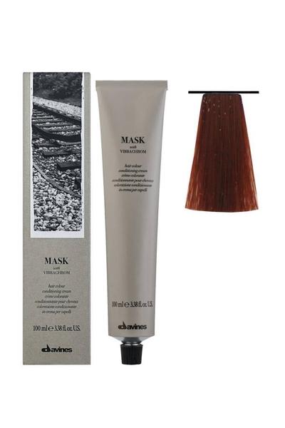 Davines - Davines Mask Vibrachrom Saç Boyası 6,46 Koyu Kumral Bakır Kızıl 100 ml