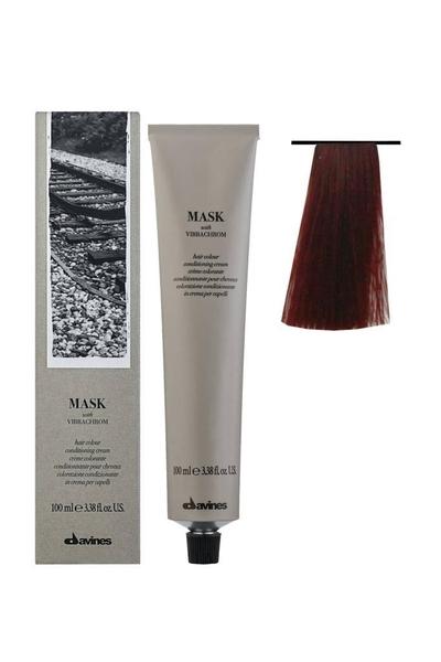 Davines - Davines Mask Vibrachrom Saç Boyası 6,66 Koyu Kumral Yoğun Kızıl 100 ml