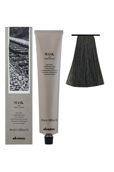 Davines - Davines Mask Vibrachrom Saç Boyası 7,11 Yoğun Küllü Kumral 100 ml
