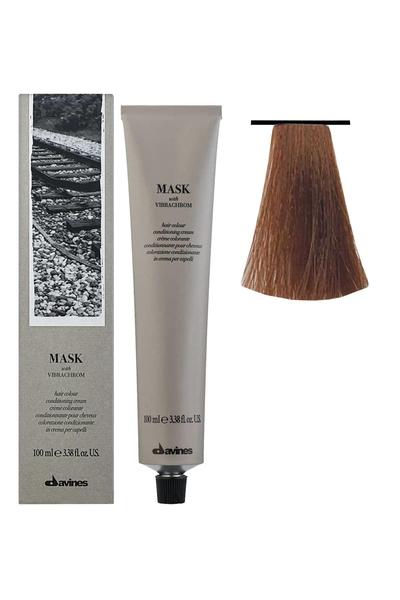 Davines - Davines Mask Vibrachrom Saç Boyası 7,4 Orta Bakır Kumral 100 ml