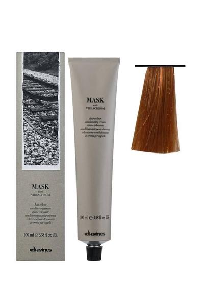 Davines - Davines Mask Vibrachrom Saç Boyası 8,44 Açık Kumral Yoğun Bakır 100 ml