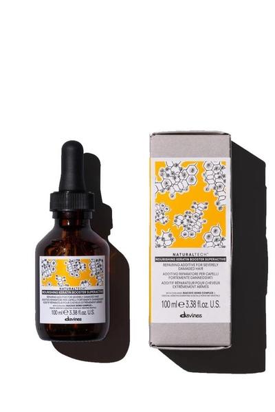 Davines - Davines Nourishing Keratin Booster Yıpranmış Saçları Onarıcı Süperaktif Bakım 100 ml
