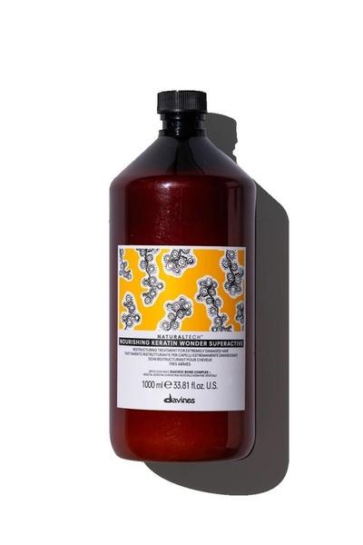Davines - Davines Nourishing Keratin Wonder Yıpranmış Saçları Yapılandırıcı Bakım 1000 ml
