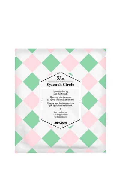 Davines - Davines The Quench Circle Yoğun Nemlendirici Kağıt Maske