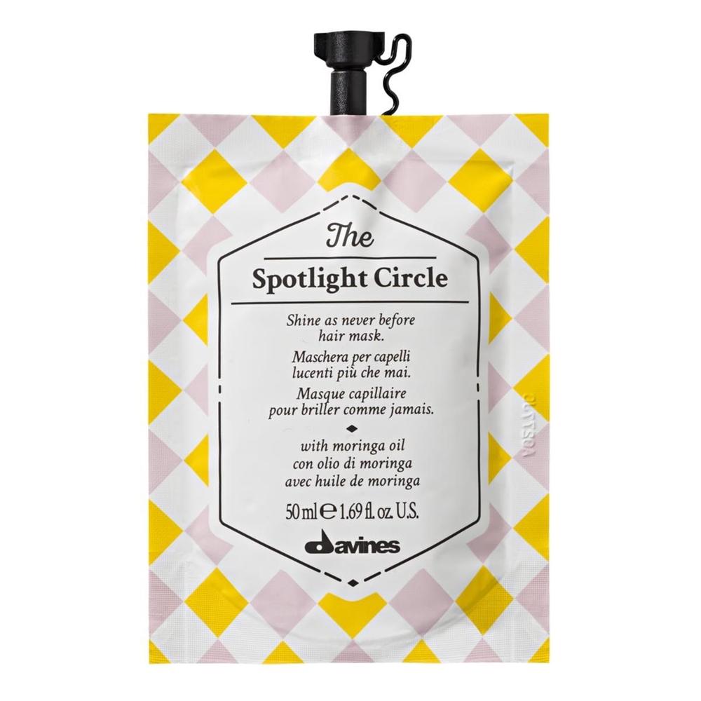 Davines The Spotlight Circle Parlaklık Kazandıran Saç Bakım Maskesi 50 ml