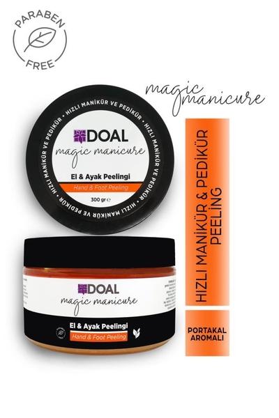 DOAL - Doal Magic Manicure El ve Ayak İçin Hızlı Manikür & Pedikür Peelingi 300 g