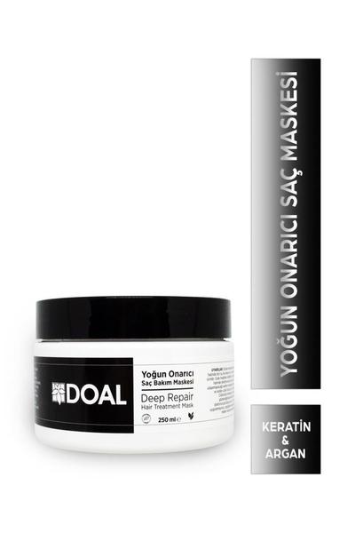 DOAL - Doal Yoğun Onarıcı Saç Bakım Maskesi Keratin & Argan 250 ml