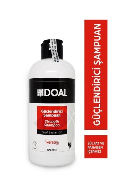 DOAL - Doal Zayıf Saçlar İçin Güçlendirici Keratin Şampuanı 400 ml