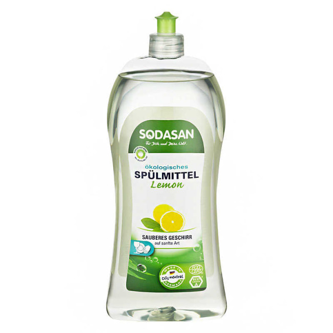 Sodasan - Sodasan Elde Bulaşık Deterjanı - Limonlu 1000 Ml