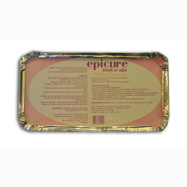 Epicure - Epicure Titanyum Pudralı Kalıp Sir Ağda 500gr