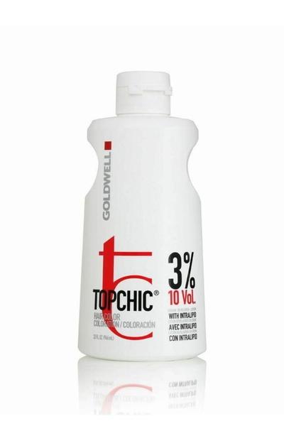 Goldwell - Goldwell Topchic Oksidan Krem %3 10 Vol 1000 ml