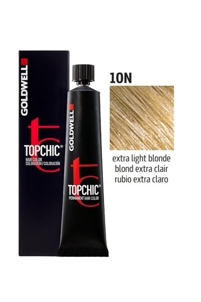Goldwell - Goldwell Topchic Saç Boyası 10N Ekstra Açık Sarı 60 ml