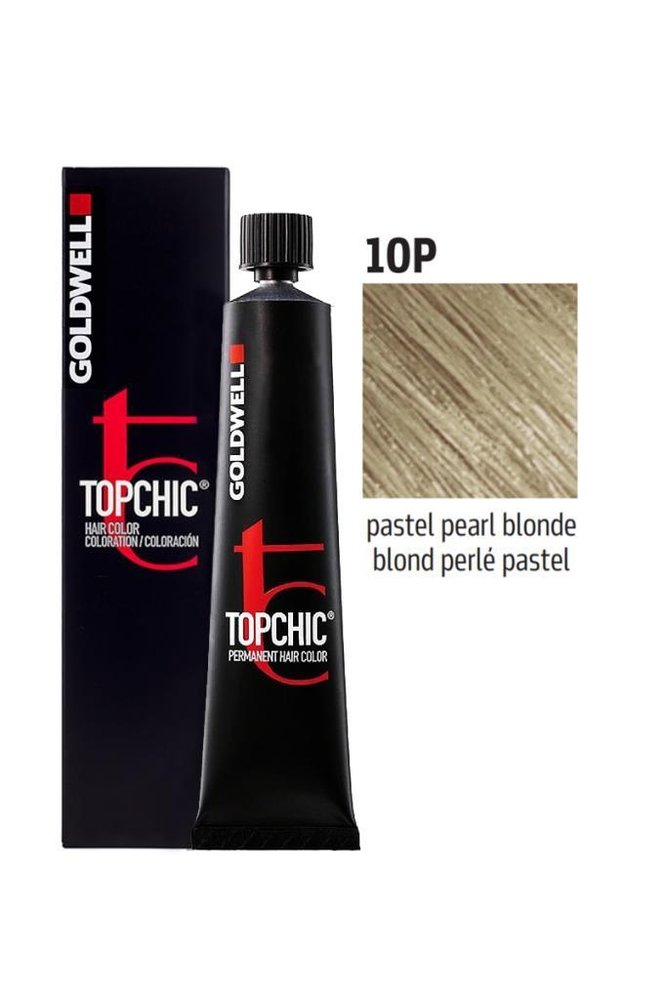 Goldwell Topchic Saç Boyası 10P Pastel İnci Sarı 60 ml
