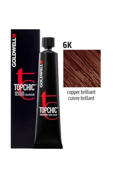 Goldwell - Goldwell Topchic Saç Boyası 6K Parlak Bakır 60 ml