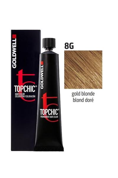 Goldwell - Goldwell Topchic Saç Boyası 8G Altın Kumral 60 ml
