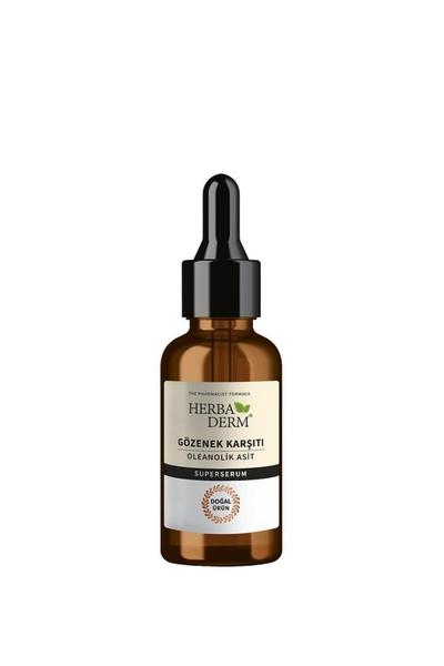 Herbaderm - Herbaderm Gözenek Karşıtı Oleanolik Asit Süper Serum 30 ml