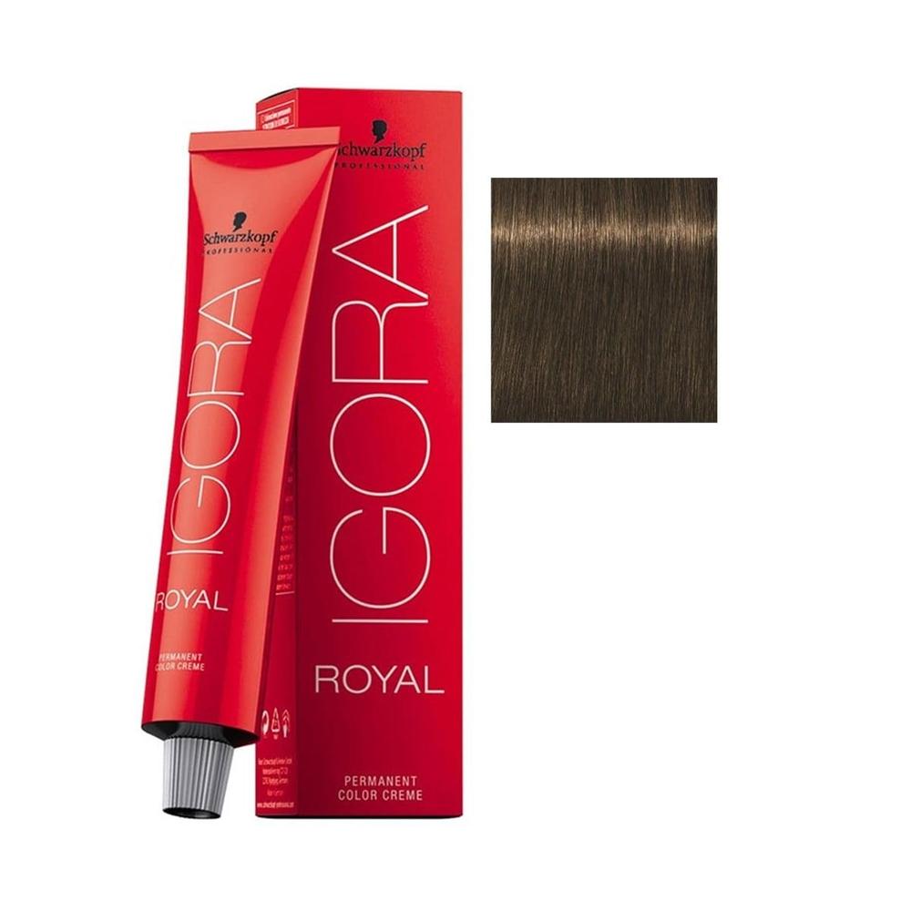 Igora Royal 6-63 Koyu Kumral-Çikolata Mat