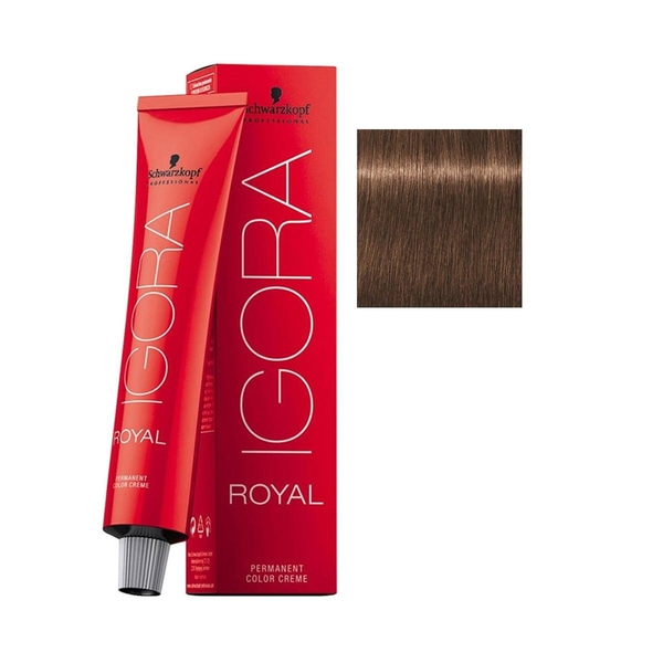 Schwarzkopf - Igora Royal 6-65 Koyu Kumral-Çikolata Altın