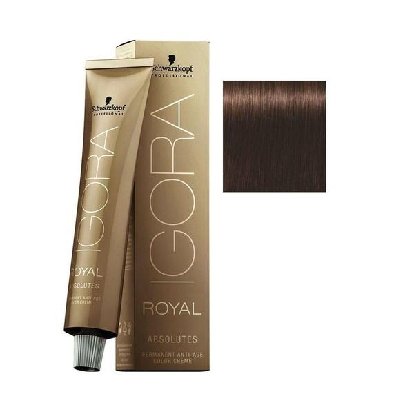 Schwarzkopf - Igora Royal Absolutes 4-60 Kahve Doğal Çikolata