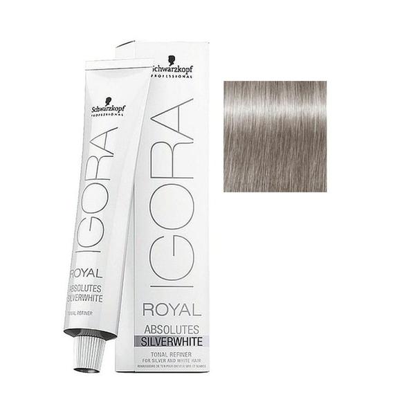 Schwarzkopf - Igora Royal Absolutes Silverwhite Dove Grey Güvercin Grisi