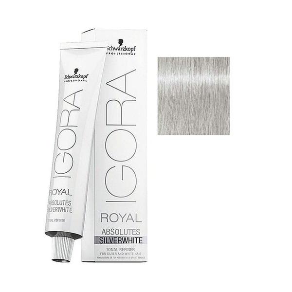 Schwarzkopf - Igora Royal Absolutes Silverwhite Silver Gümüş