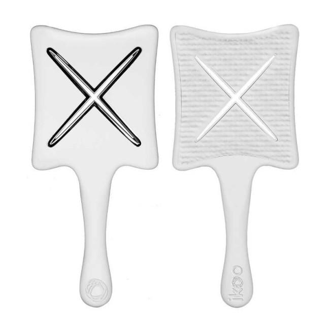 Ikoo - IKOO Paddle X-Platinium White Platin Beyazı Tarak