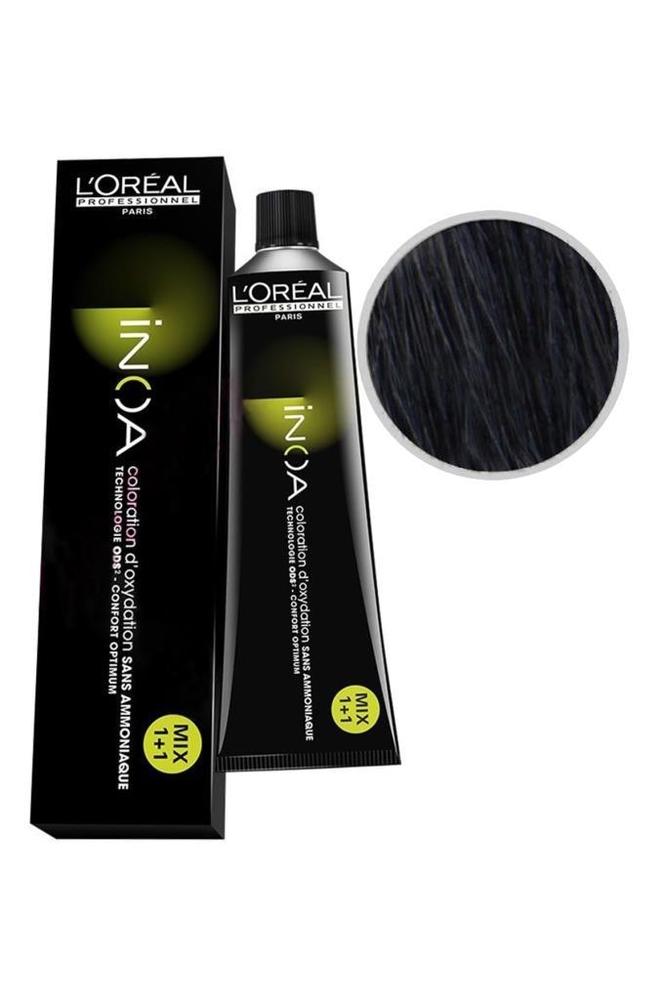 İnoa Saç Boyası 2.10 Yoğun Mavi Siyah 60 ml