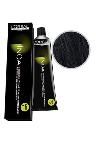 inoa - İnoa Saç Boyası 2.10 Yoğun Mavi Siyah 60 ml