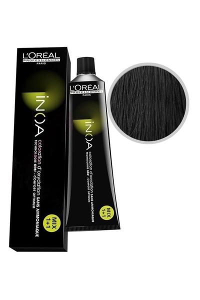 inoa - İnoa Saç Boyası 4.1 Kahve Küllü 60 ml