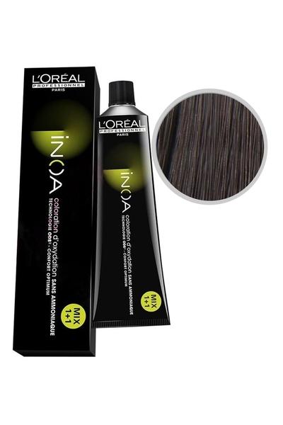 inoa - İnoa Saç Boyası 4.51 Kahve Akaju Küllü 60 ml