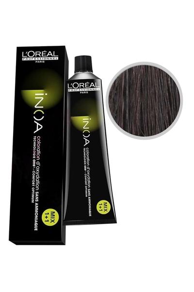 inoa - İnoa Saç Boyası 4.56 Kahve Akaju Kızıl 60 ml