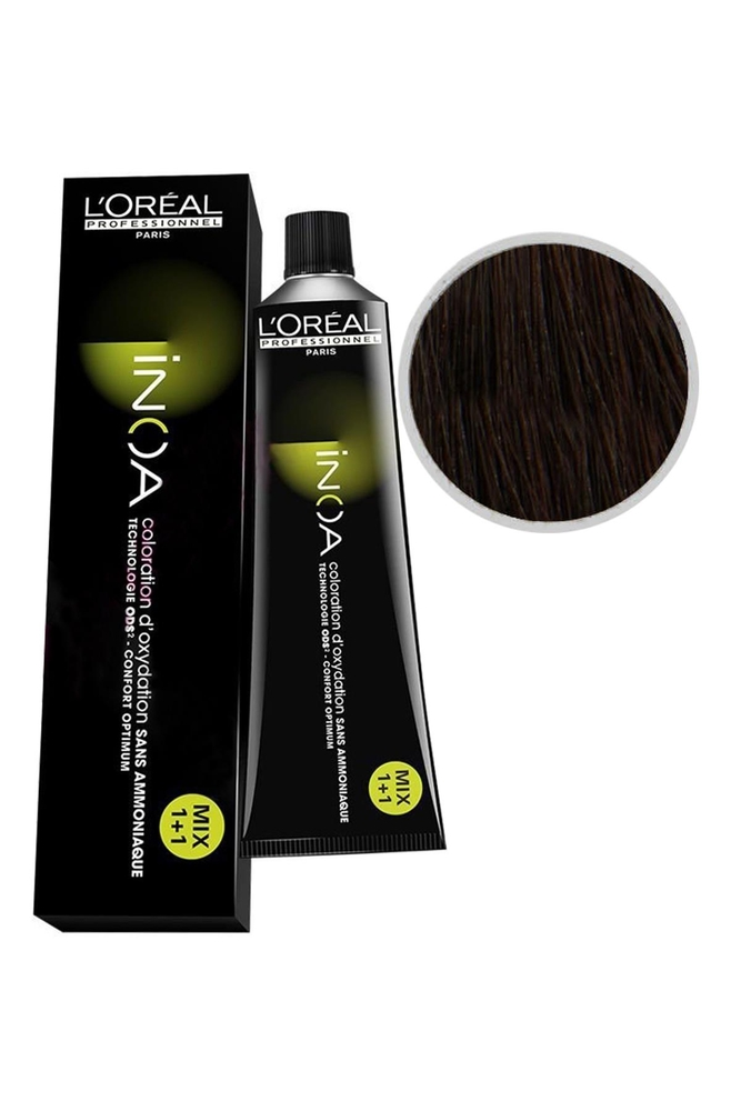 İnoa Saç Boyası 5.0 Yoğun Açık Kahve 60 ml