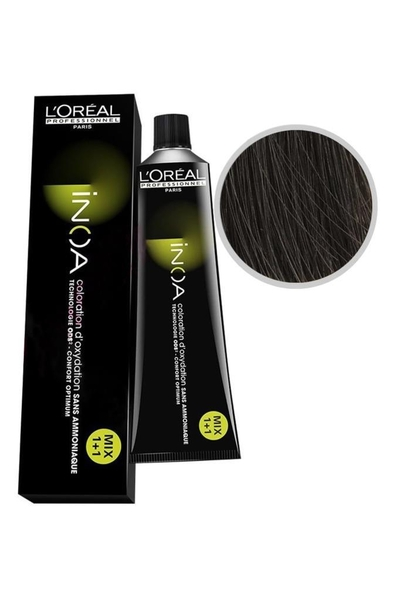inoa - İnoa Saç Boyası 5.1 Açık Kahve Küllü 60 ml