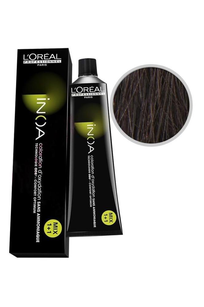 İnoa Saç Boyası 5.5 Açık Kahve Akaju 60 ml