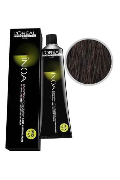 inoa - İnoa Saç Boyası 5.5 Açık Kahve Akaju 60 ml