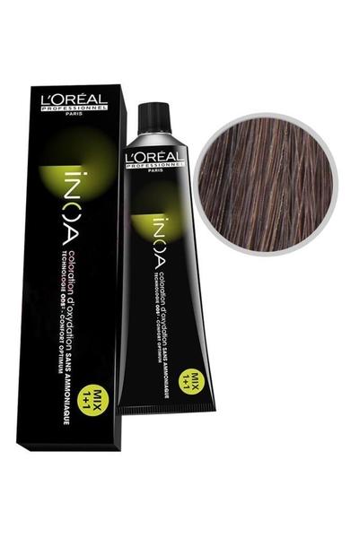 inoa - İnoa Saç Boyası 6.15 Koyu Kumral Küllü Akaju 60 ml
