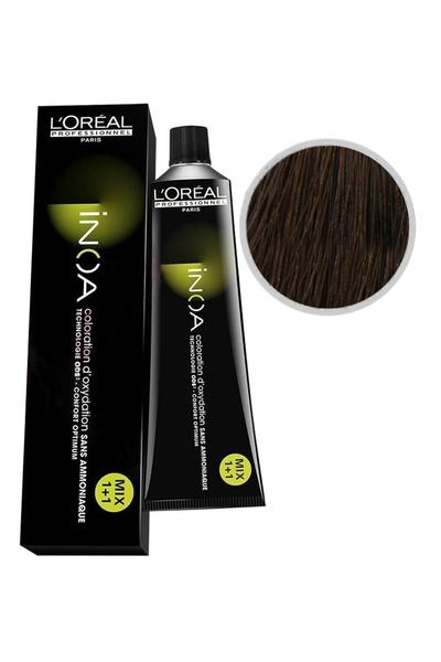 inoa - İnoa Saç Boyası 6.17 Küllü Kahve 60 ml