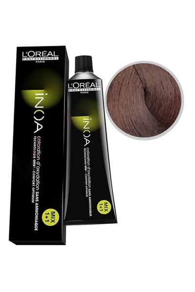 inoa - İnoa Saç Boyası 6.23 Koyu Kumral İrize Dore 60 ml