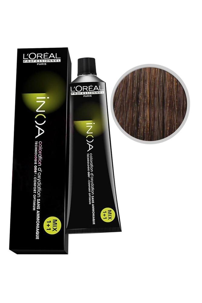 İnoa Saç Boyası 6.34 Koyu Kumral Dore Bakır 60 ml