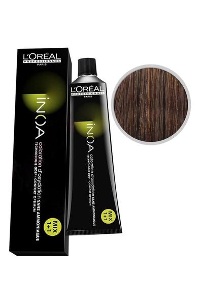 inoa - İnoa Saç Boyası 6.34 Koyu Kumral Dore Bakır 60 ml
