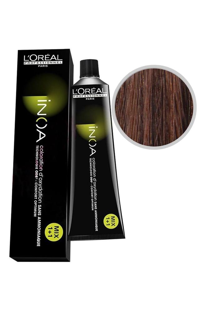 İnoa Saç Boyası 6.45 Koyu Kumral Bakır Akaju 60 ml