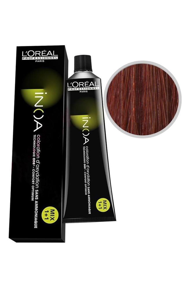 İnoa Saç Boyası 6.64 Koyu Kumral Kızıl Bakır 60 ml